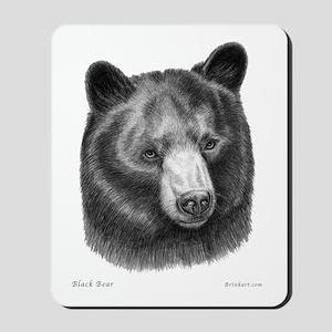 Black Bear Icon ~ Mousepad