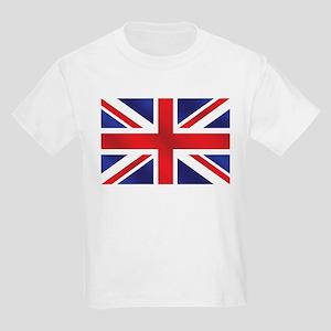 Union Jack UK Flag Kids Light T-Shirt