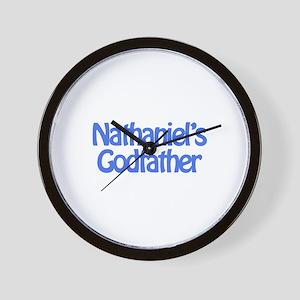 Nathaniel's Godfather Wall Clock