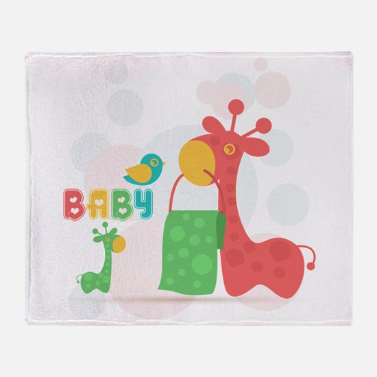 funny kids Throw Blanket