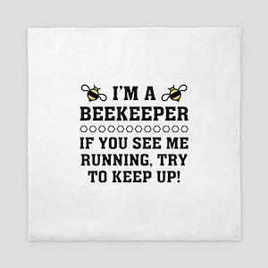Beekeeper Running Queen Duvet