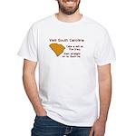 Visit South Carolina..Such As White T-Shirt