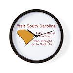 Visit South Carolina..Such As Wall Clock