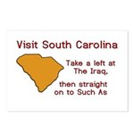 Visit South Carolina..Such As Postcards (Package o