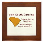 Visit South Carolina..Such As Framed Tile