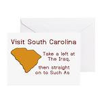 Visit South Carolina..Such As Greeting Cards (Pk o
