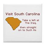 Visit South Carolina..Such As Tile Coaster