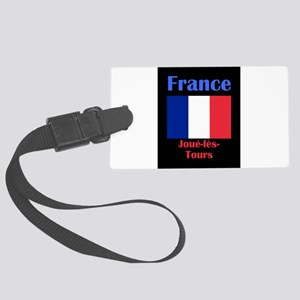Joue-les-Tours France Luggage Tag