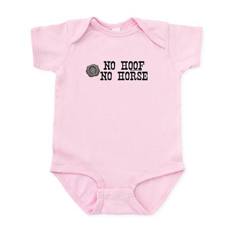 No hoof, no horse. Infant Bodysuit