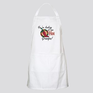 You're Looking at One Hot Grandpa! BBQ Apron