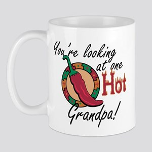 You're Looking at One Hot Grandpa! Mug