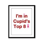 Cupids Top 8 Framed Panel Print