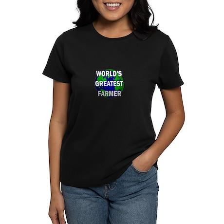 World's Greatest Farmer Women's Dark T-Shirt