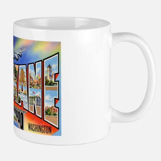 Spokane Washington Greetings Mug