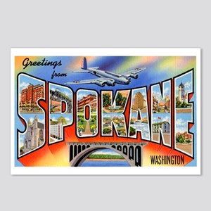 Spokane Washington Greetings Postcards (Package of
