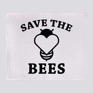Save The Bees Stadium Blanket