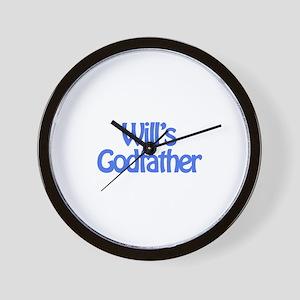 Will's Godfather Wall Clock