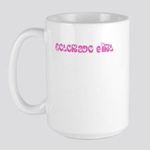 Colorado Girl Large Mug