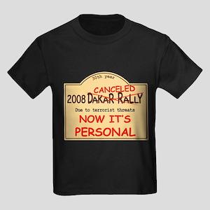 Dakar canceled personal Kids Dark T-Shirt