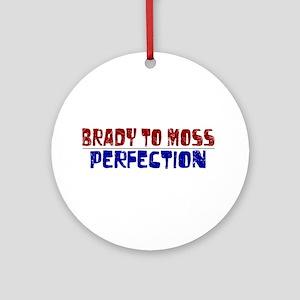 Brady to Moss Ornament (Round)
