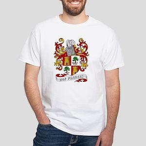 Van Vorhees Coat of Arms White T-Shirt