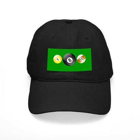 billiard Black Cap