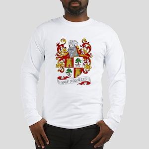 Van Vorhees Coat of Arms Long Sleeve T-Shirt