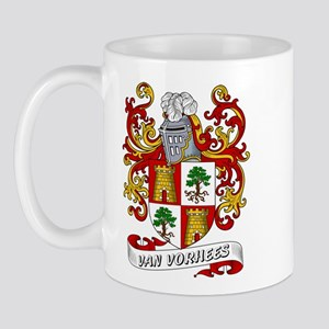 Van Vorhees Coat of Arms Mug