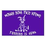 Wobbly Goat Race Krewe Sticker