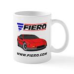 PFF Mug - Red/Grey, LH & RH