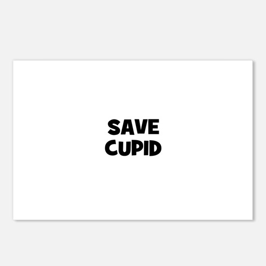 Save Cupid Postcards (Package of 8)