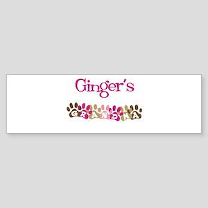 Ginger's Grandma Bumper Sticker