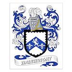 Wainwright Coat of Arms Small Poster