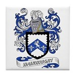 Wainwright Coat of Arms Tile Coaster