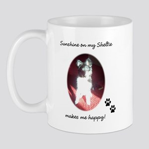 Sunshine Sheltie Mug