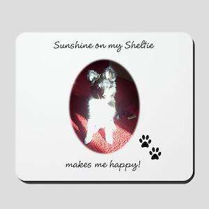 Sunshine Sheltie Mousepad