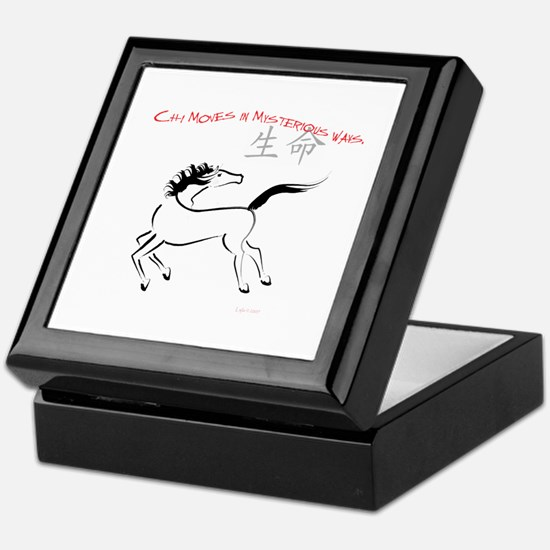 Chi Moves Mysterious Horse Keepsake Box