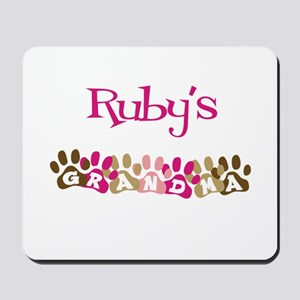 Ruby's Grandma Mousepad