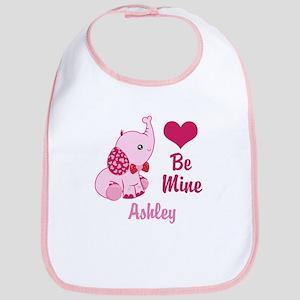 Valentine Elephant Cotton Baby Bib