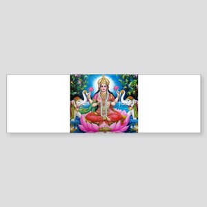 Lakshmi Goddess of Wealth, Happines Bumper Sticker