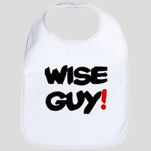 WISE GUY! Baby Bib