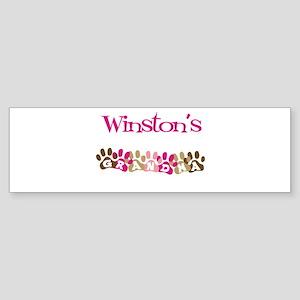Winston's Grandma Bumper Sticker