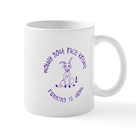 wobbly goat race krewe Mugs