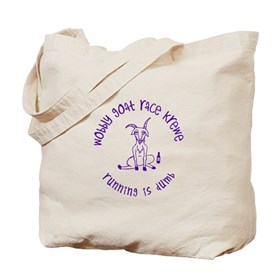 wobbly goat race krewe Tote Bag