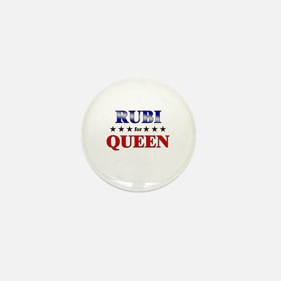 RUBI for queen Mini Button