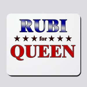 RUBI for queen Mousepad