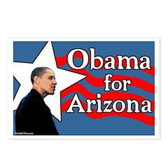 Obama for Arizona campaign postcards