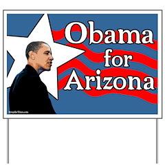Obama for Arizona Yard Sign