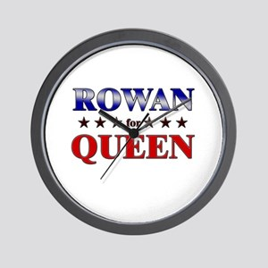 ROWAN for queen Wall Clock