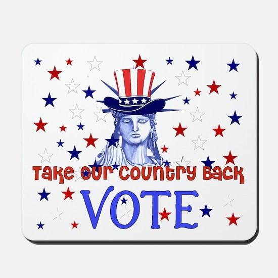 Vote Election 2008 Mousepad